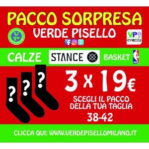 Pacco sorpresa 3 calze NBA Stance 38-42 (OUTLET)