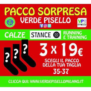 Pacco sorpresa 3 calze Stance 35-37 (OUTLET)