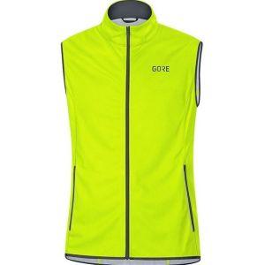 Gore Gilet Gore-tex Infinium uomo neon yellow