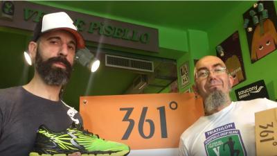 Ferdinando Pellegrino presenta le 361° SENSATION 2 da Verde Pisello