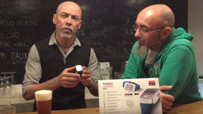 Francesco Panetta presenta Timex Ironman GPS