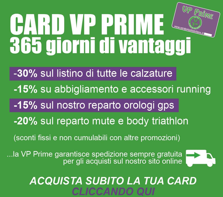 Con la Card VP Prime gli sconti sono sempre garantiti!